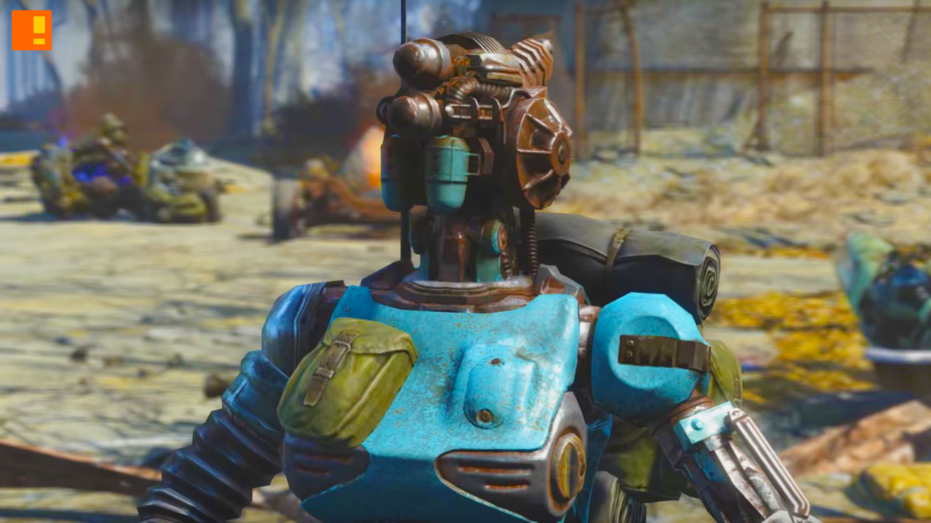 fallout 4 automatron. bethesda. the action pixel. @theactionpixel