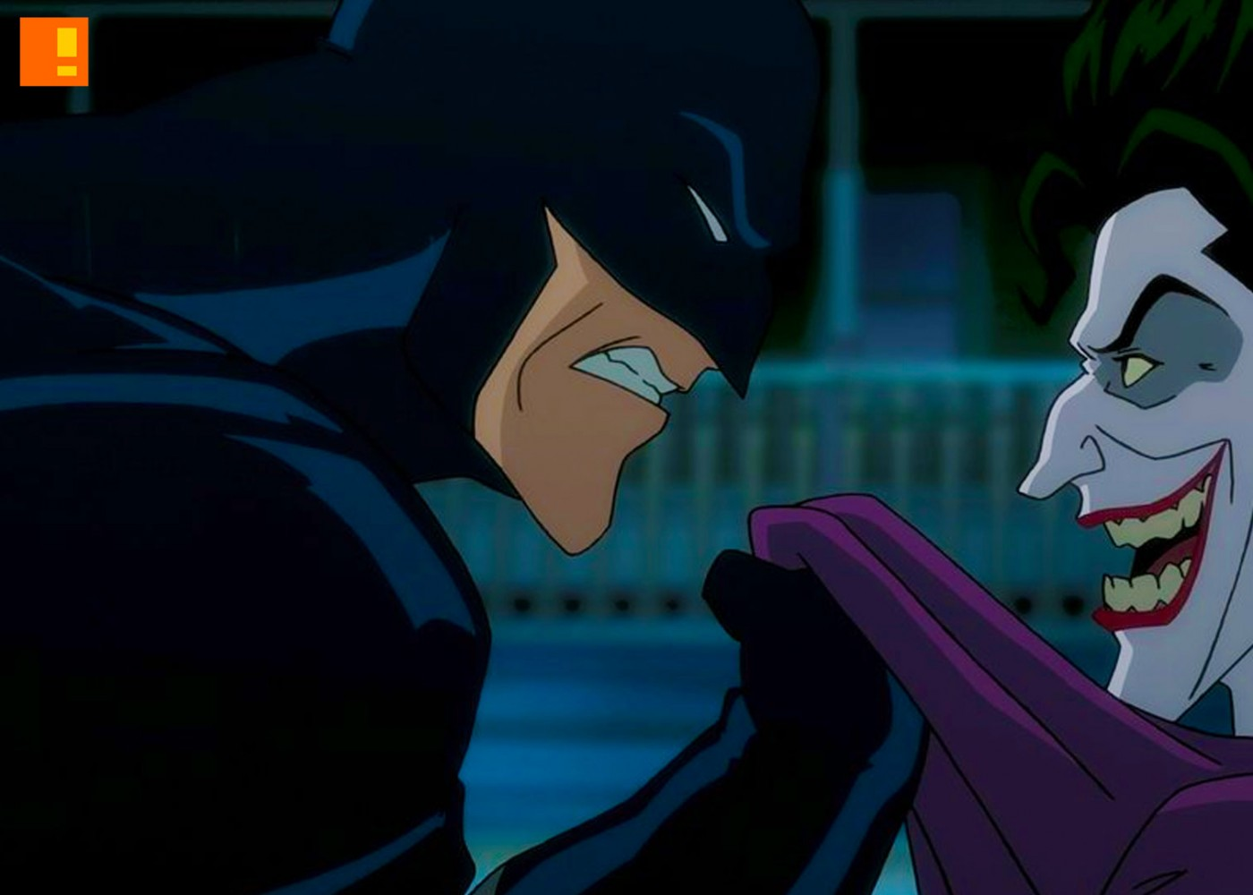 batman. joker. the killing joke. the action pixel. @theactionpixel. dc comics. wb animation