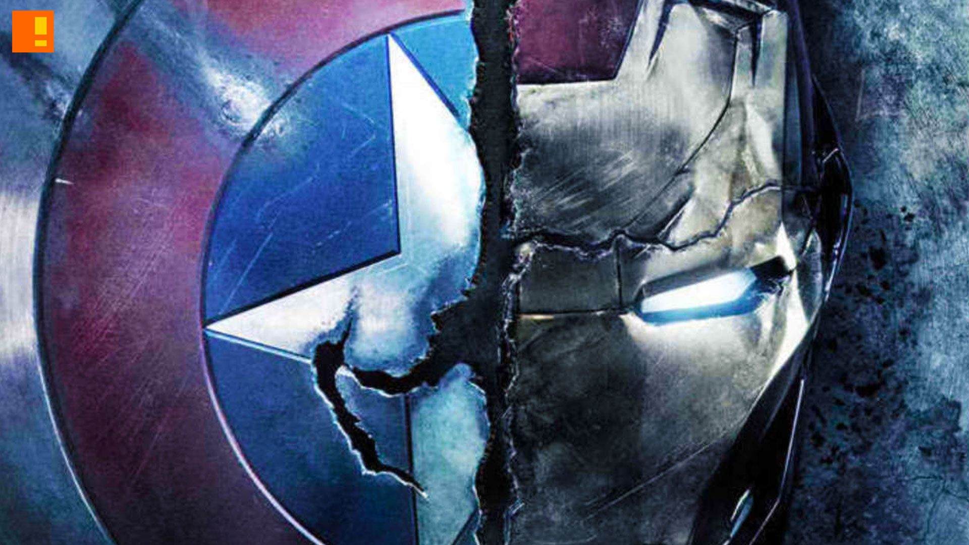 Captain America Civil War Gives Sneak Peek At Coming Trailer The