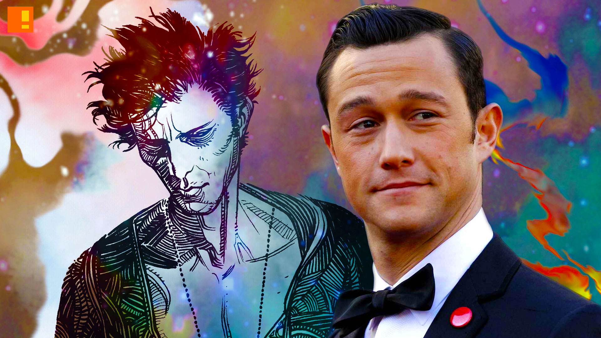 joseph gordon-levitt. dc vertigo. sandman. the action pixel. @theactionpixel