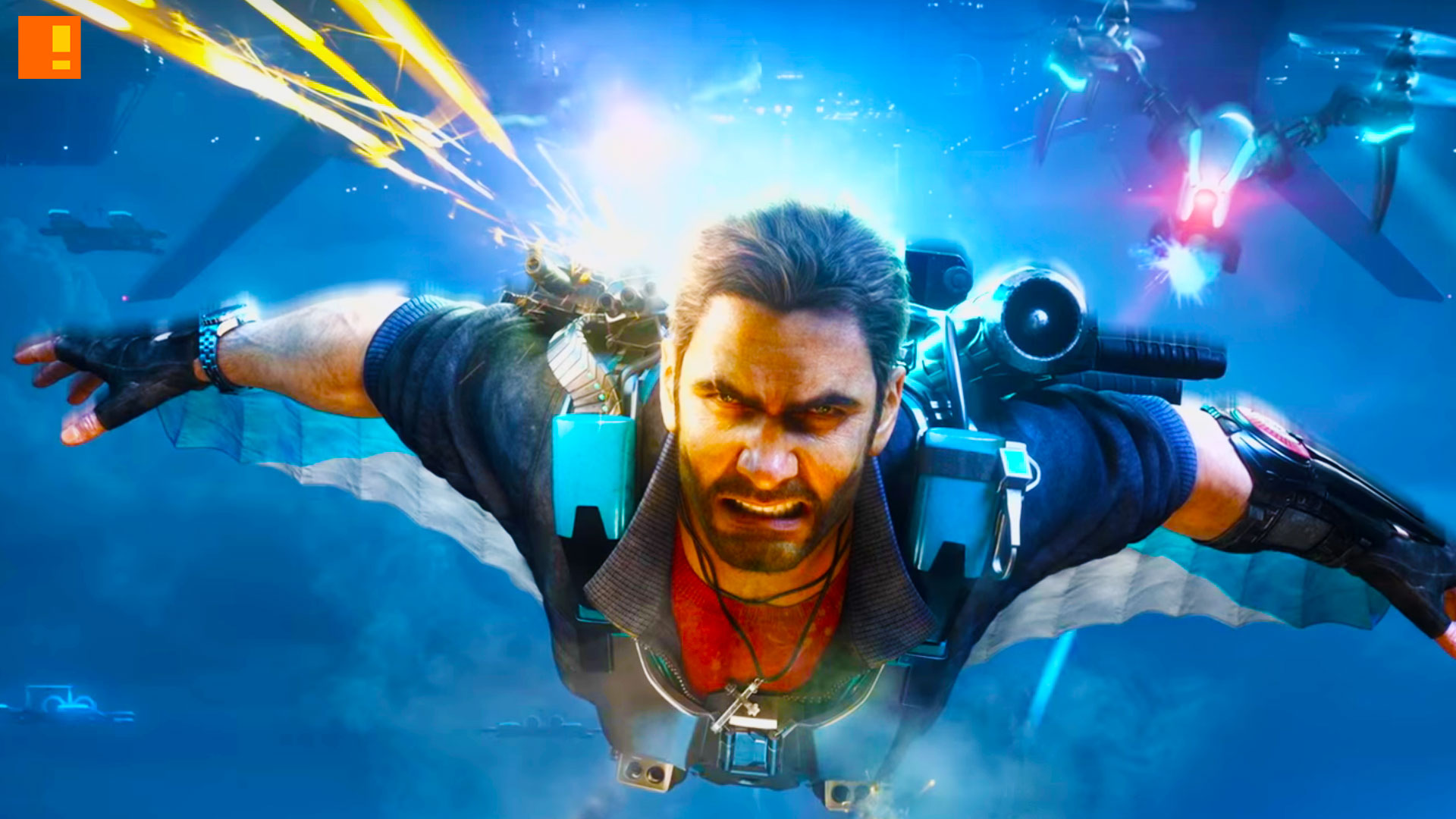 just cause 3 sky fortress. the action pixel. @theactionpixel