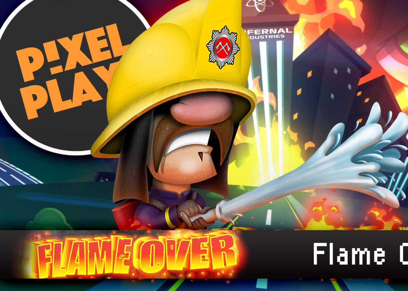 pixel plays. laughing jackal flame over. entertainment on tap. the action pixel. @theactionpixel