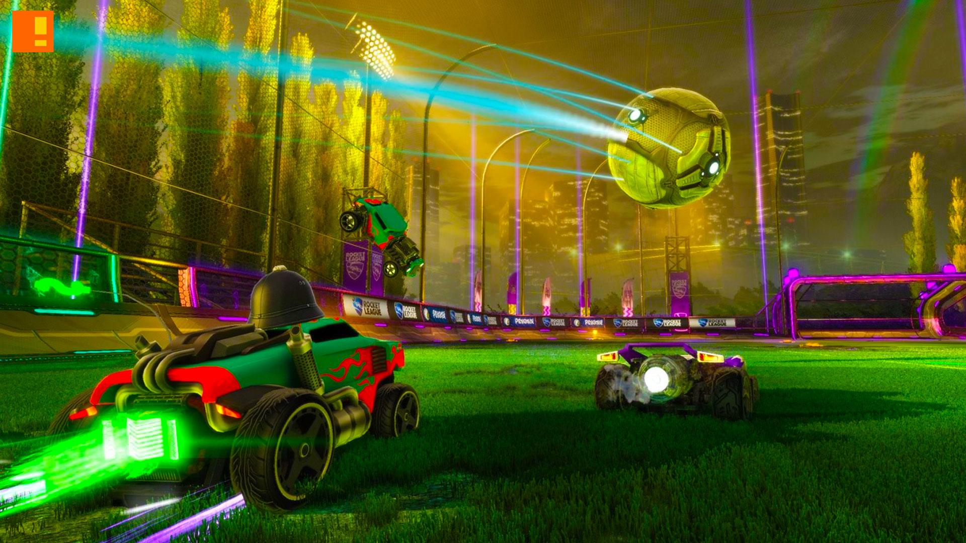 Rocket league. xbox. the action pixel. @theactionpixel. psyonix.