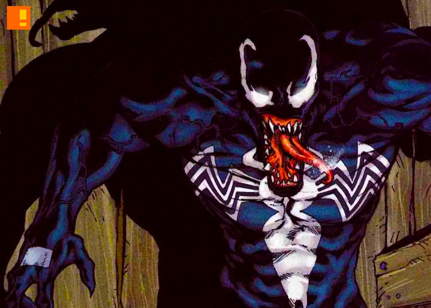 venom. eddie brock. marvel. the action pixel. @theactionpixel