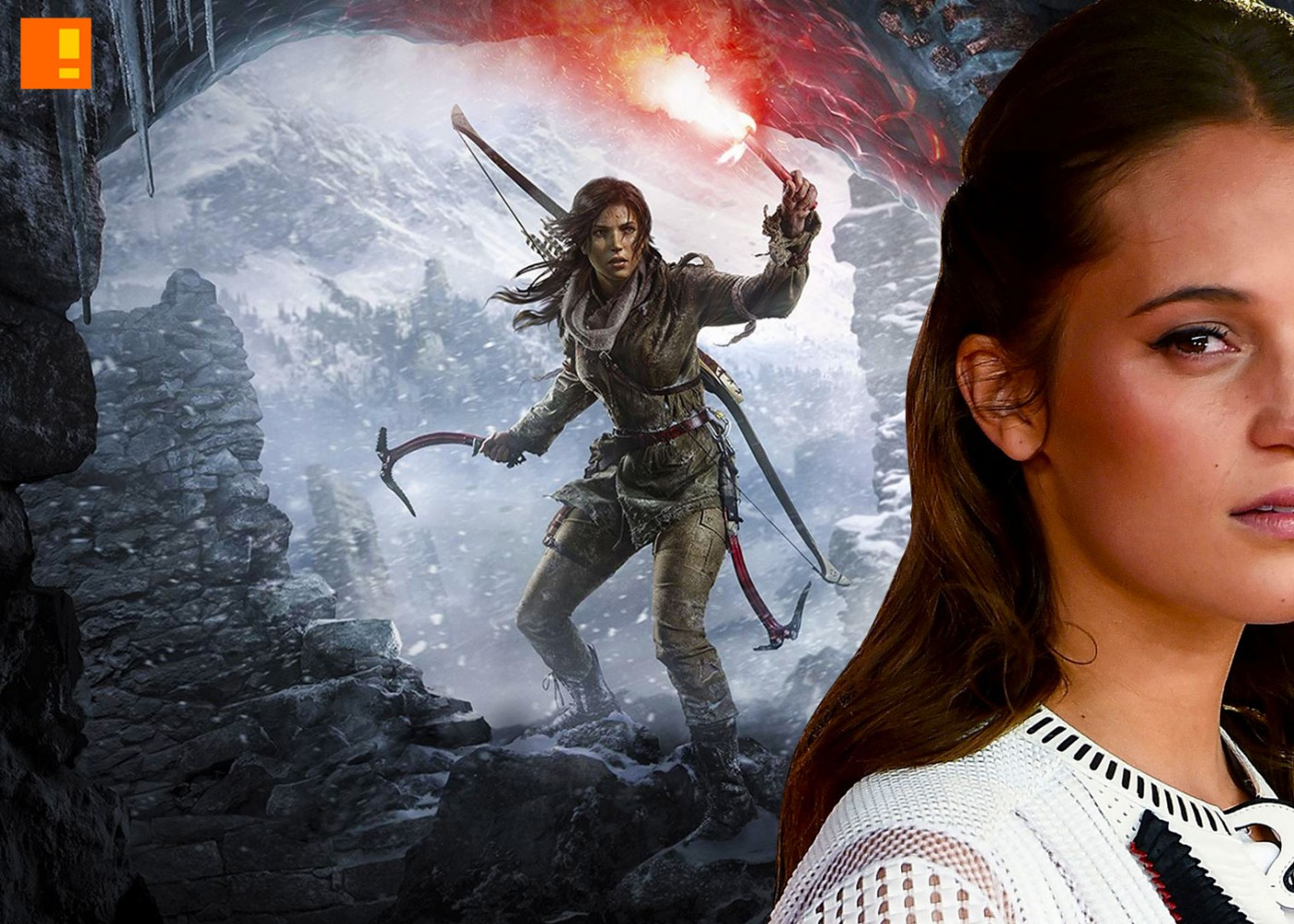 Alicia Vikander, lara croft, tomb raider, casting, reboot, entertainment on tap, game movies, ex-machinima,jason bourne