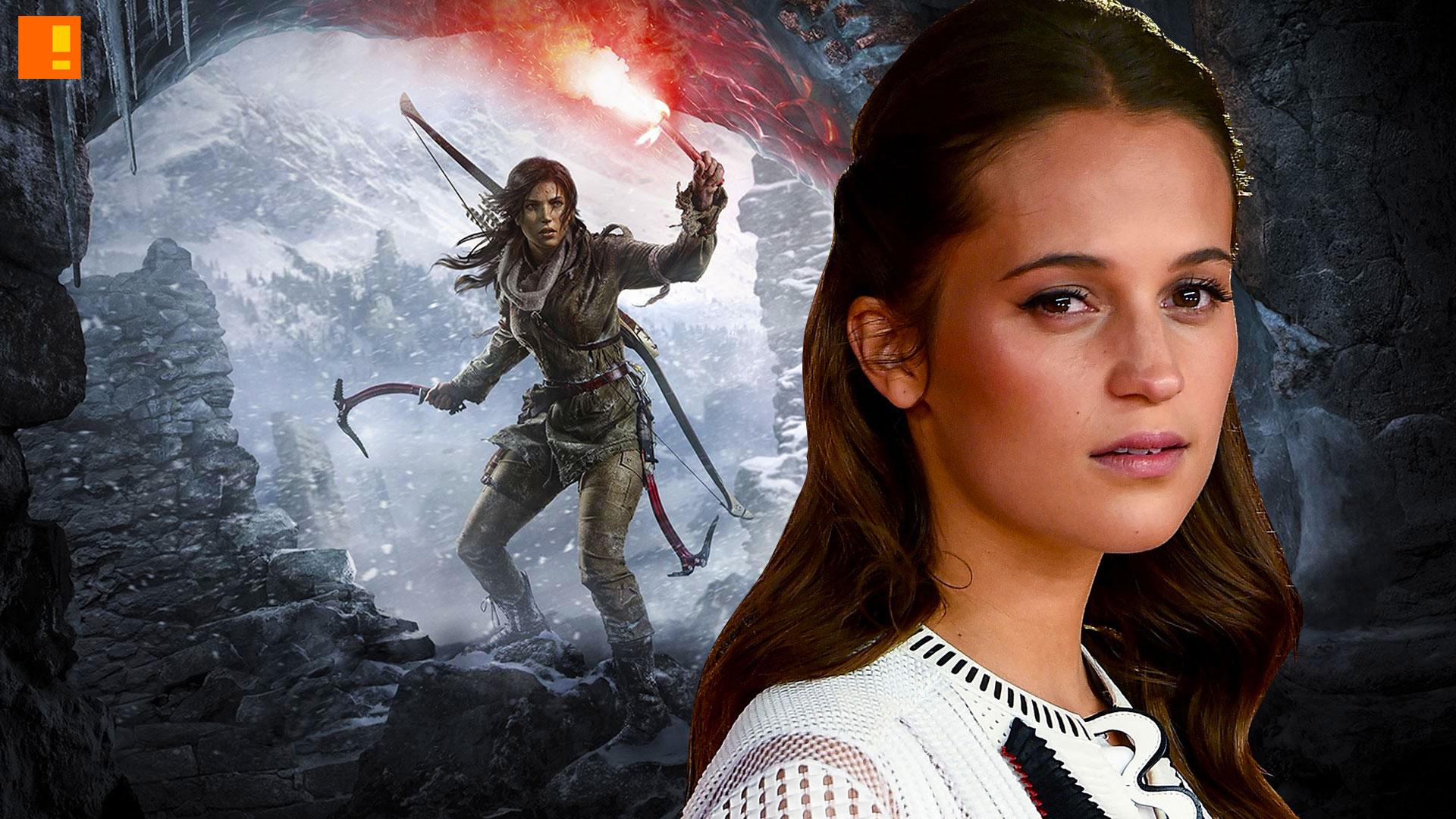 Alicia Vikander, lara croft, tomb raider, casting, reboot, entertainment on tap, game movies, ex-machinima,jason bourne