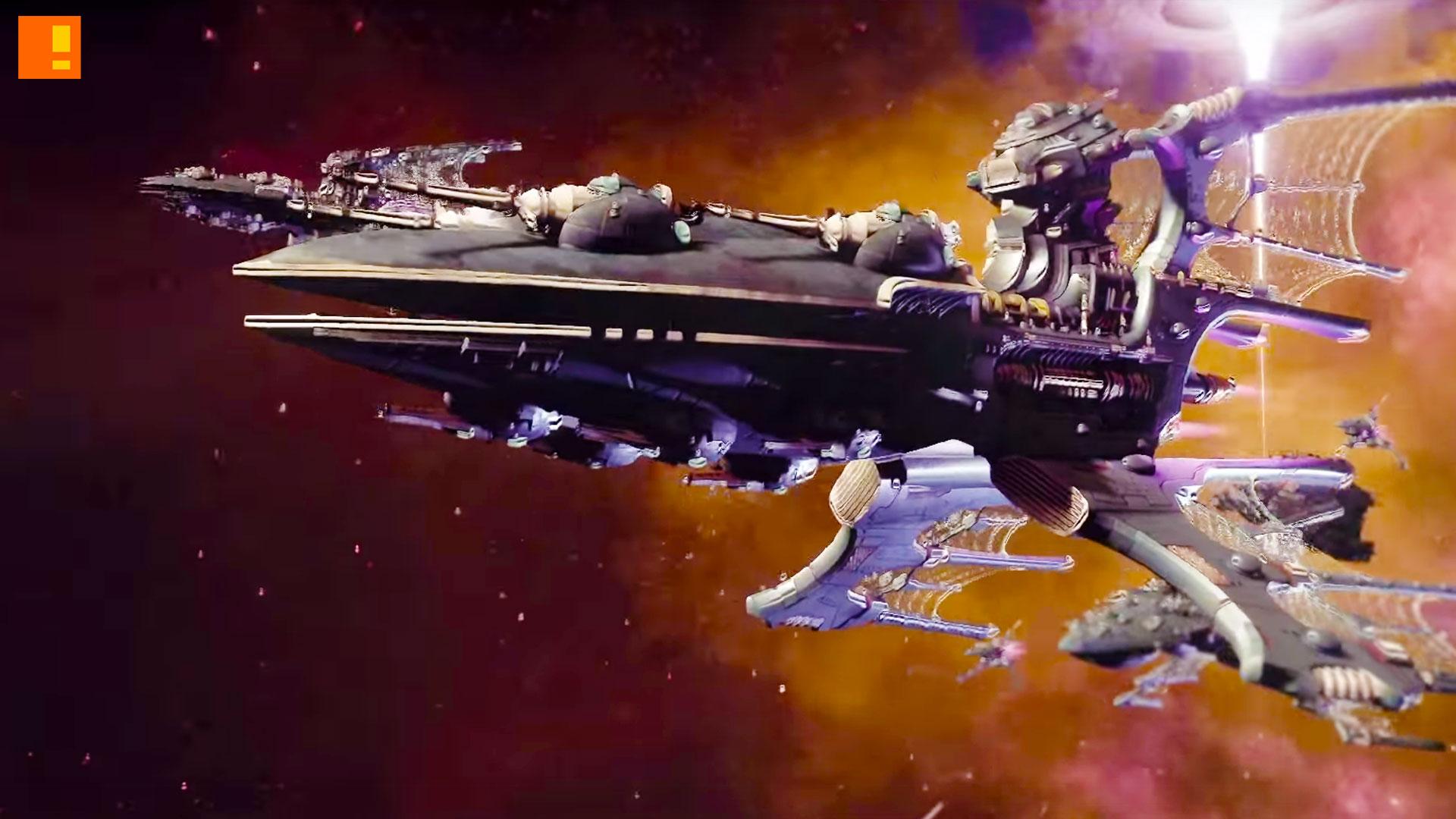 Battlefleet Gothic Armada, the action pixel, @theactionpixel, eldar, games workshop