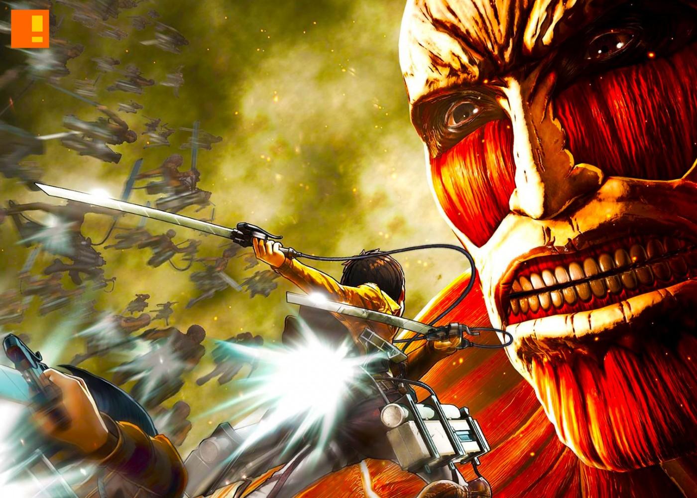 koei tecmo, attack on titan, the action pixel, @theactionpixel