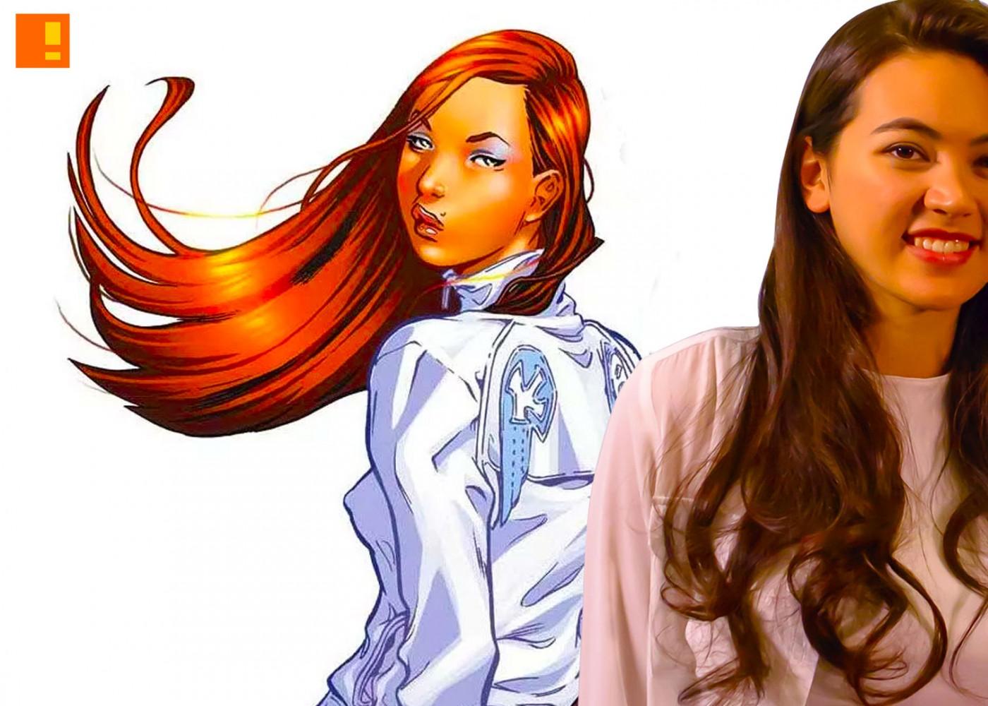 colleen wing Jessica henwick. netflix. marvel. the action pixel. @theactionpixel