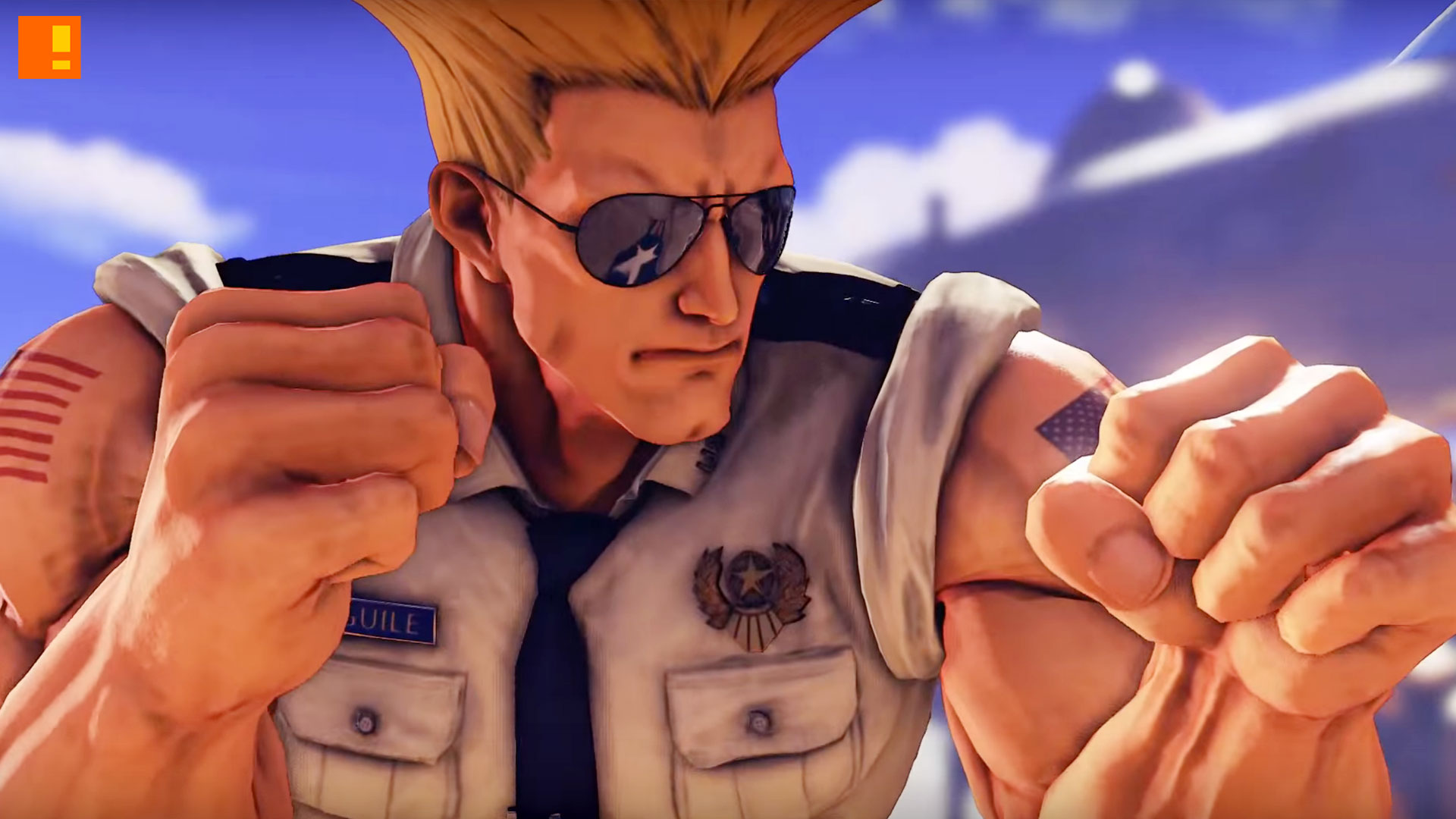 guile, sfv, street fighter 5, capcom, trailer, reveal trailer, entertainment on tap, the action pixel