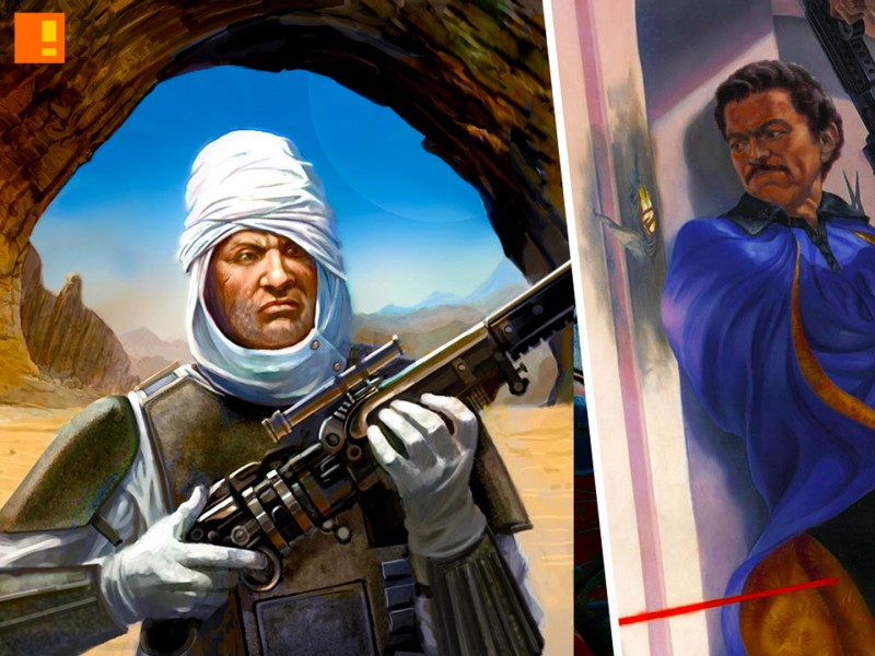 lando dengar. star wars. the action pixel. @theactionpixel