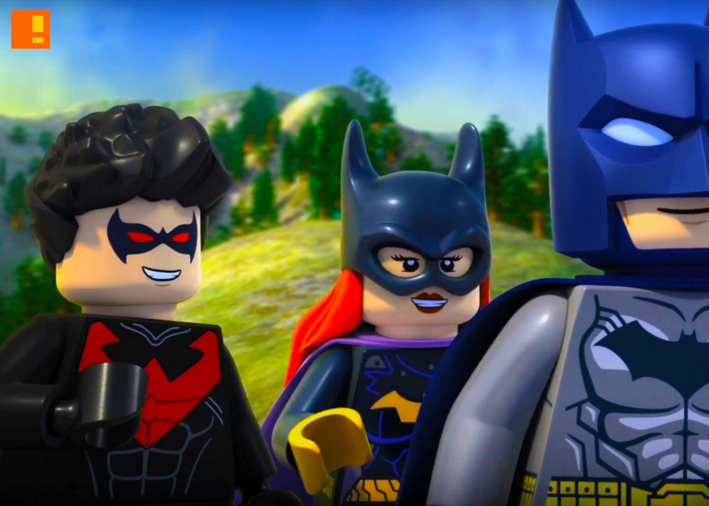 LEGO ,DC Comics, Super Heroes , Justice League, Gotham City Breakout, gotham, LEGO DC Comics Super Heroes - Justice League: Gotham City Breakout, batman, animation , warner animation, dc comics, batgirl, cyborg, superman, wonder woman, nightwing, robin, commissioner gordon, poison ivy, joker, the joker, arkham asylum, trailer,