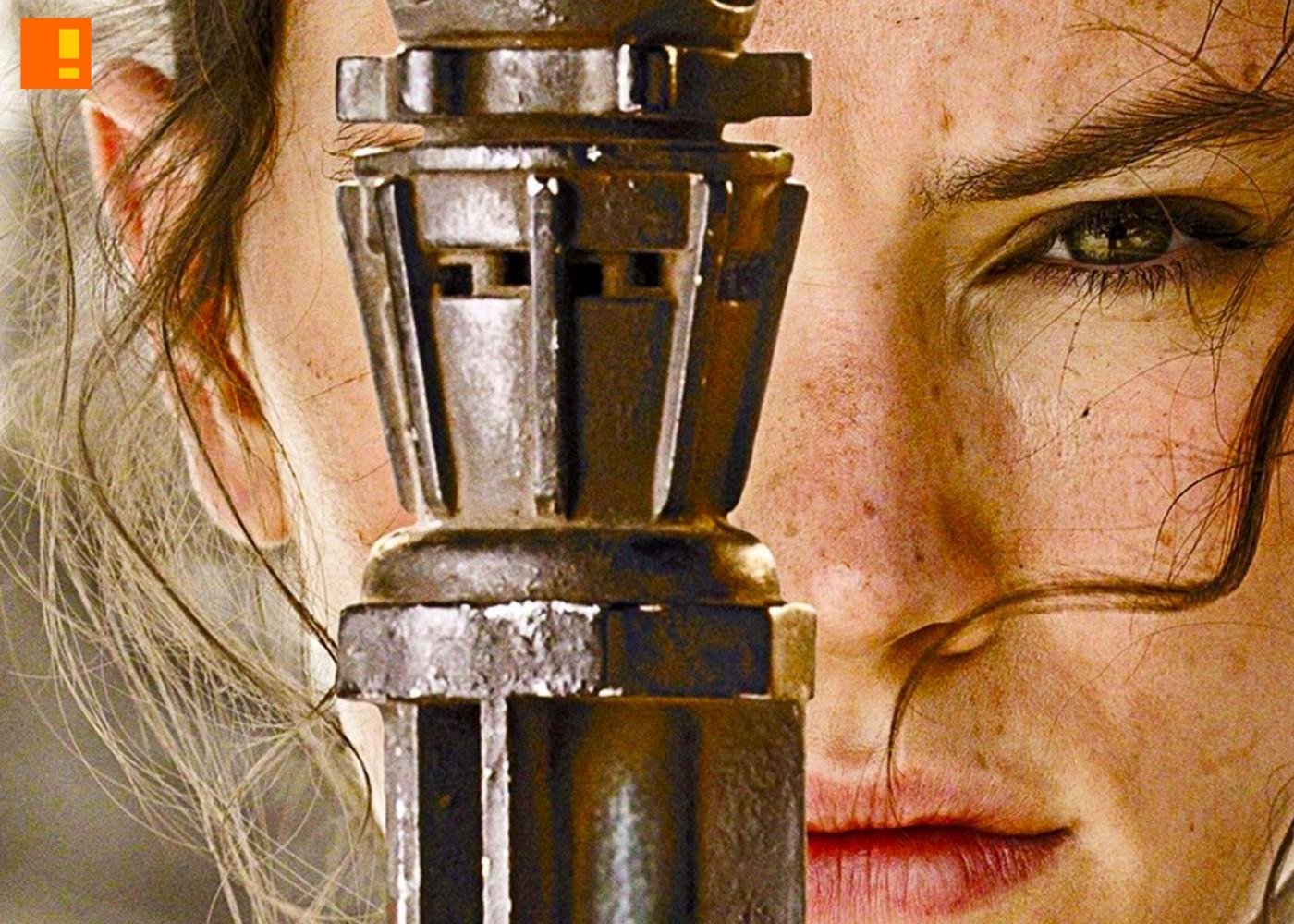 rey, star wars, the force awakens, tribeca film festival, j.j. abrams, chris rock, lightsaber,skywalker, obi wan kenobi