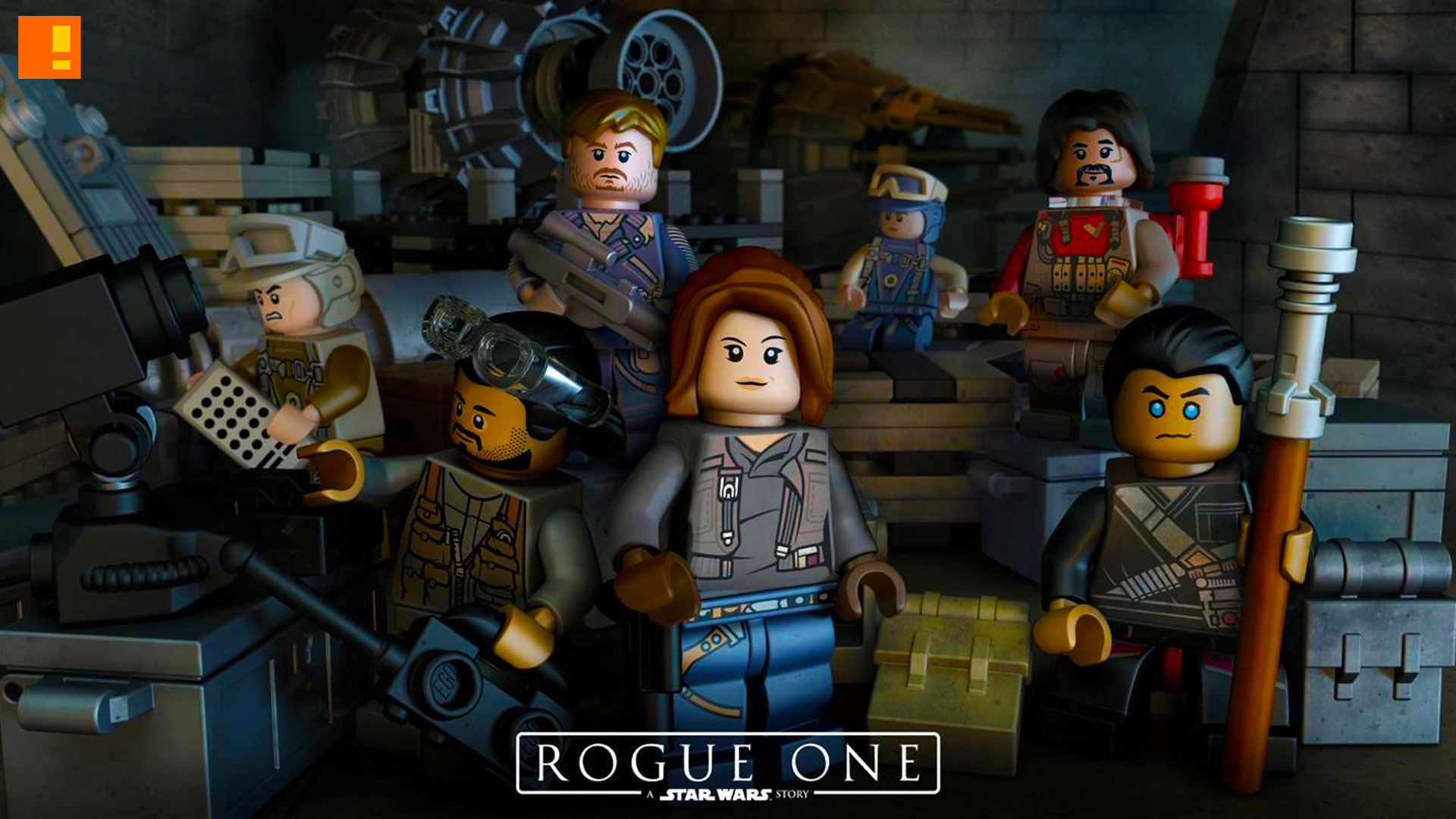Lego Teases Star Wars Rogue One Event The Action Pixel