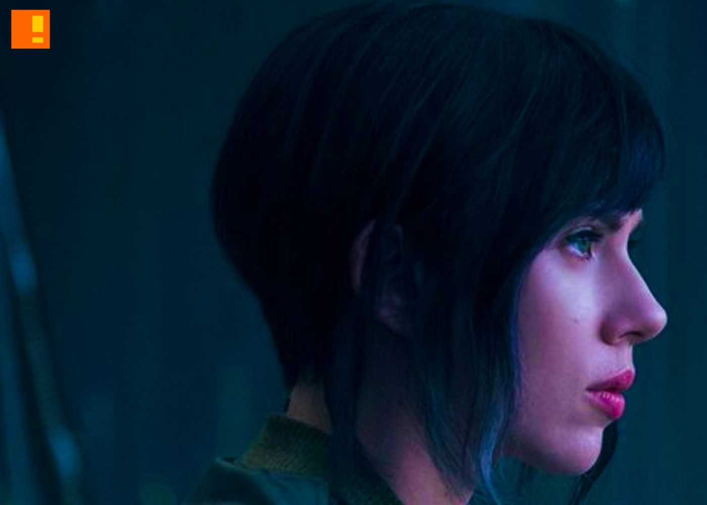 scarlett johansson, major, gits, ghost in the shell, the action pixel, dreamworks, exclusive, first look, image,major, Motoko Kusanagi