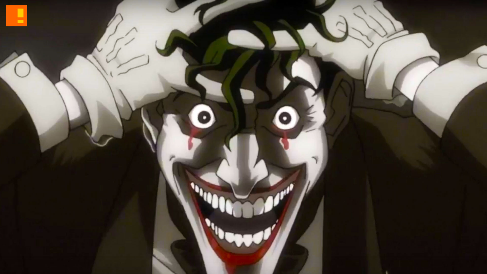 the killing joke, joker, dc comics, batman, the action pixel, @theactionpixel, wb animation, warner bros., the killing joke trailer, batman the killing joke trailer,the joker, alan moore, joker cripples batgirl, tara strong, kevin conroy, mark hamill,