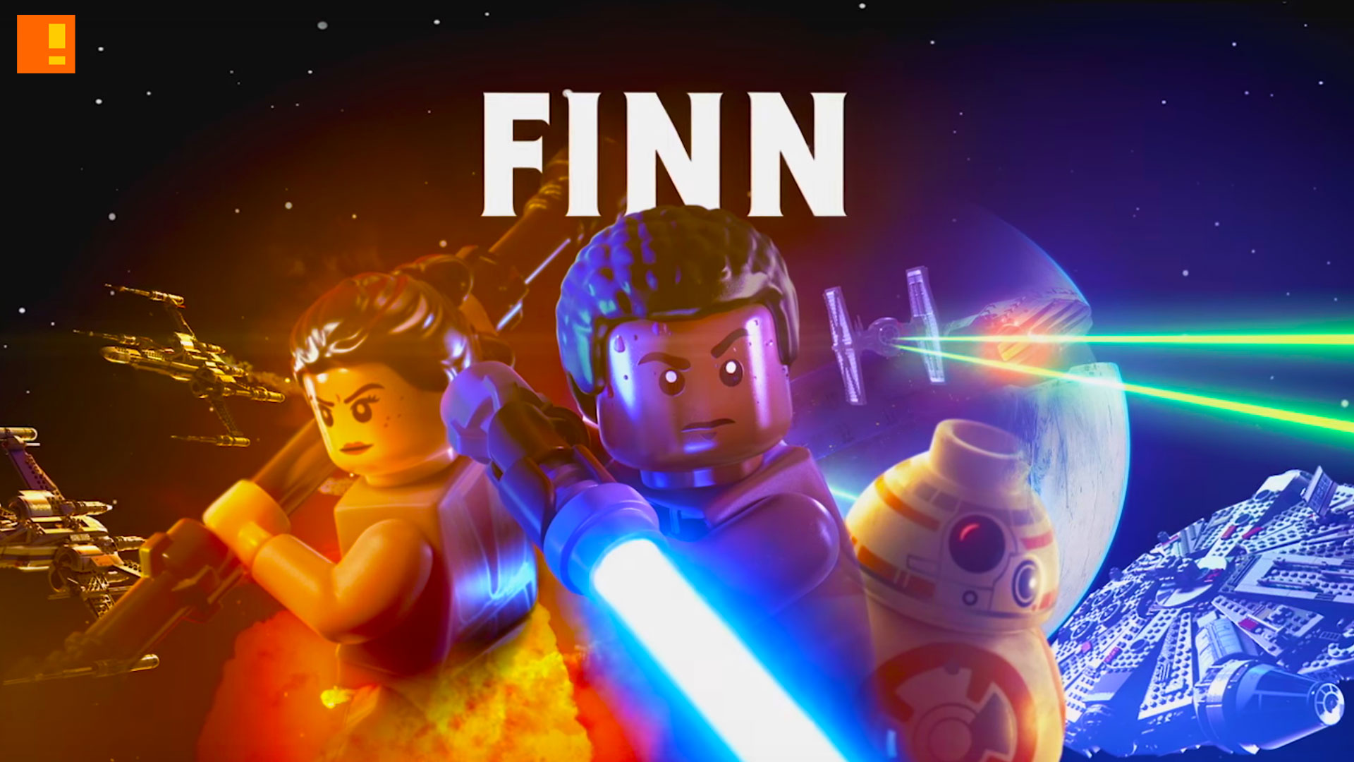 finn, lego star wars , star wars , the force awakens, star wars the force awakens, character, vignette, marvel, lucasfilm, wb games, the action pixel, entertainment on tap,