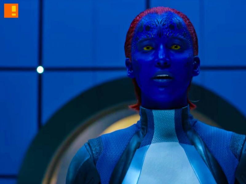 mystique, x-men apocalypse, x-men, xmen, power piece, marvel, 20th century fox, entertainment on tap, the action pixel