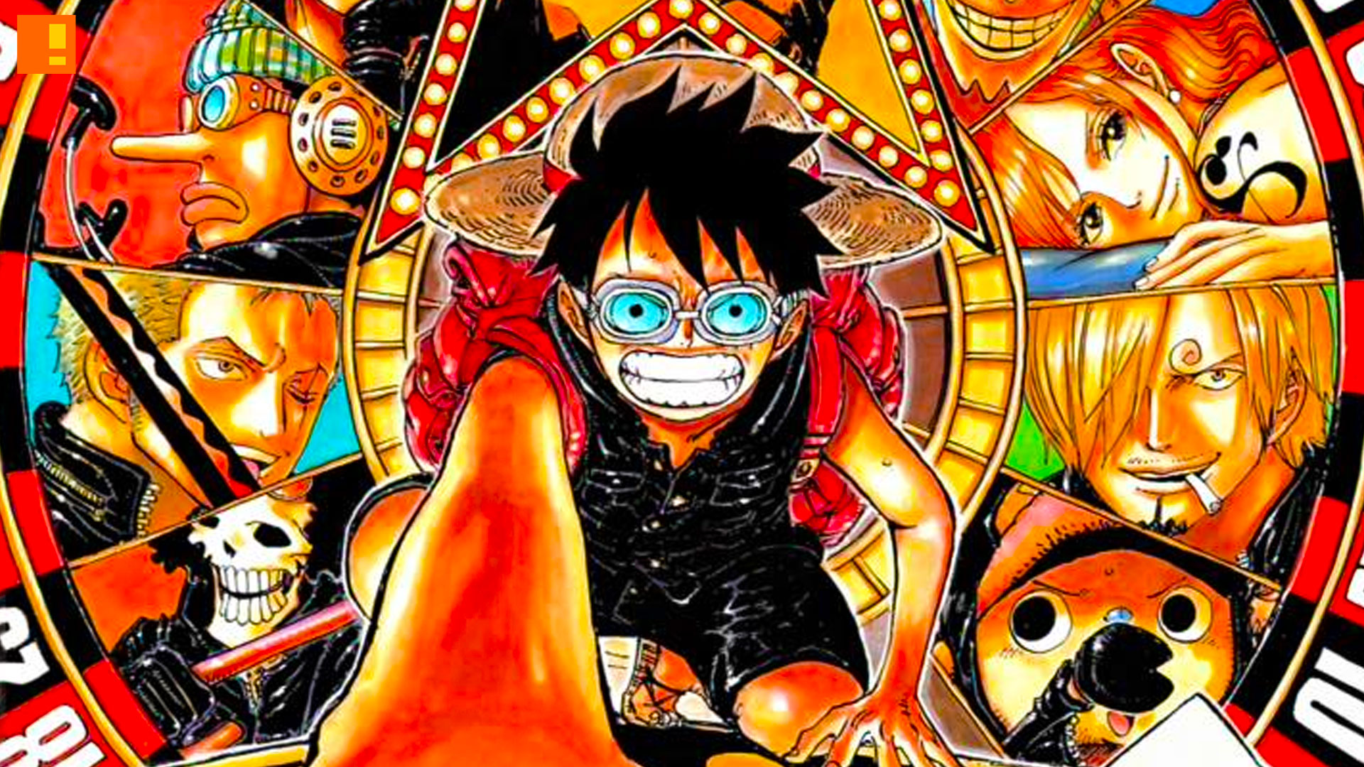 one piece film Gold, the action pixel, entertainment on tap,