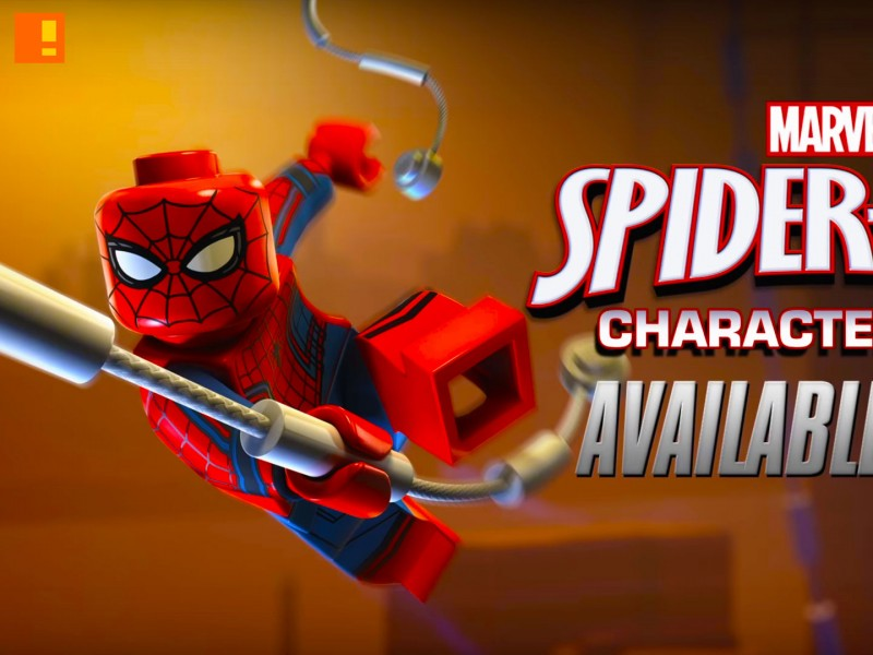 spider-man, character pack, marvel, avengers, lego marvel avengers, lego, trailer, details, entertainment on tap, warner bros. , tt games,
