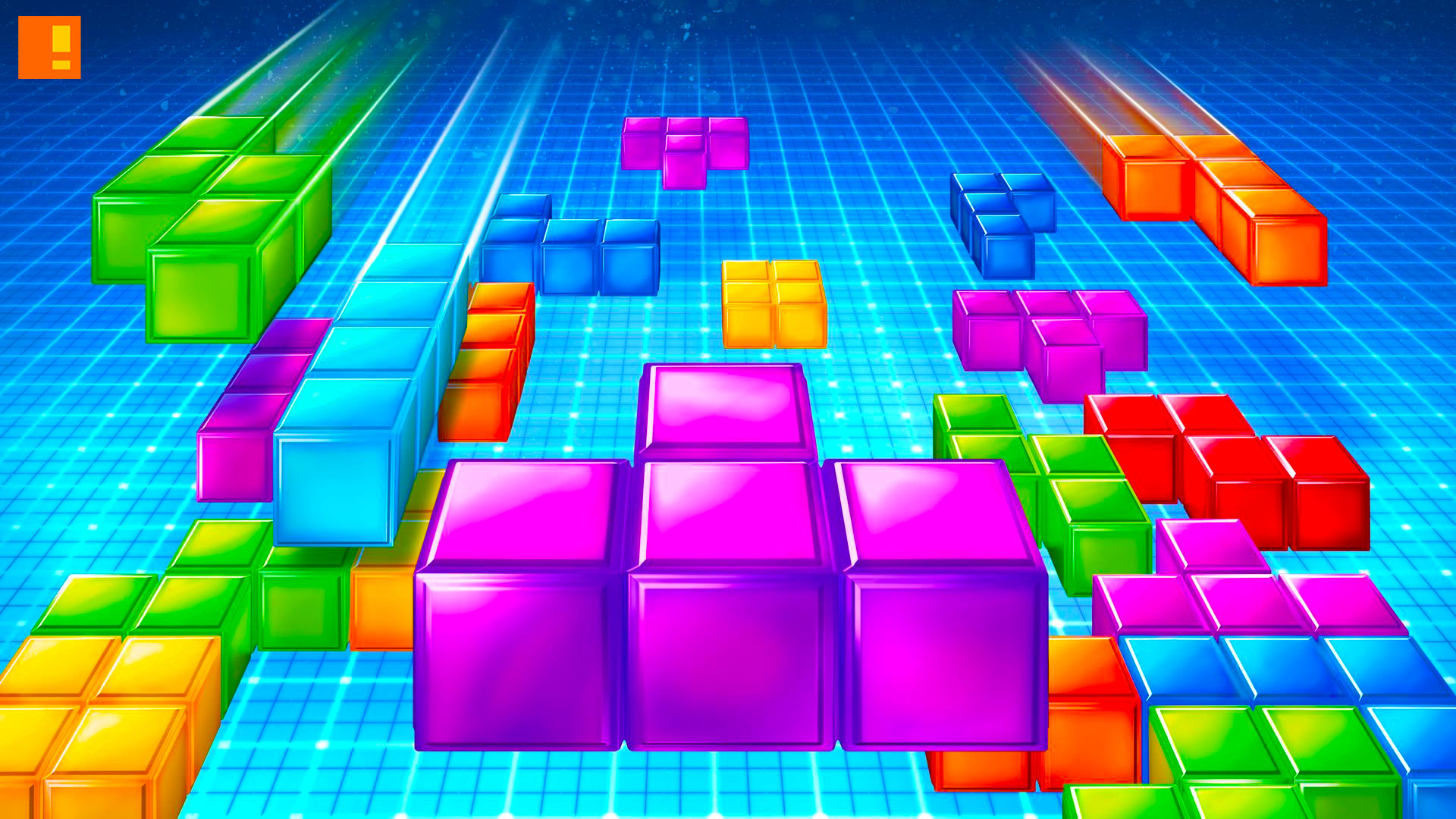 tetris, classic game, the action pixel
