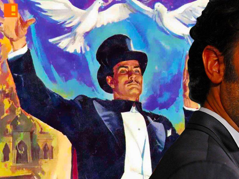SACHA BARON COHEN, MANDRAKE THE MAGICIAN, DEFENDERS OF THE EARTH, ENTERTAINMENT ON TAP,THE ACTION PIXEL