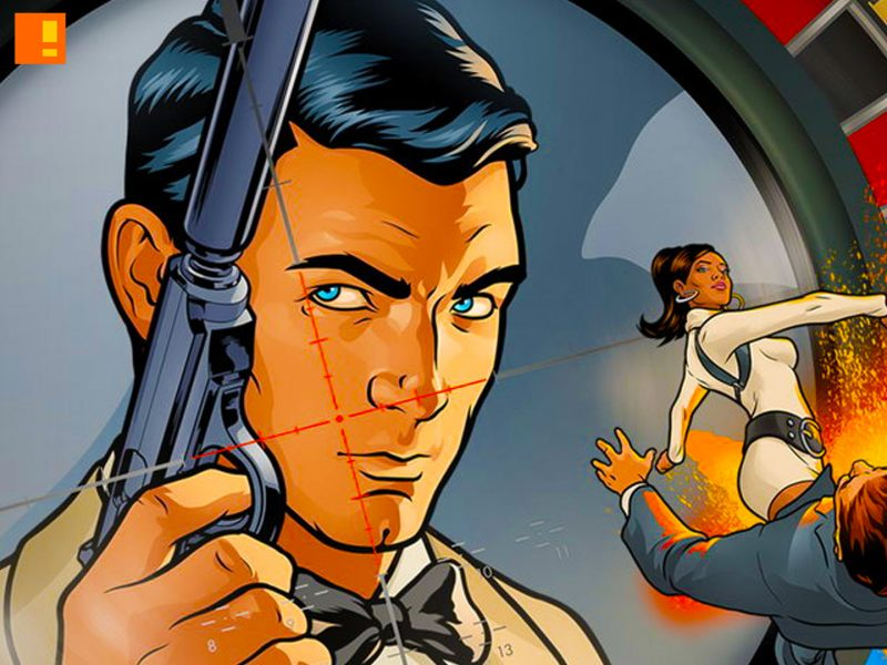 archer, fx, fox, animation, series, archer, sterling, duchess, lana, the action pixel, entertainment on tap,@theactionpixel
