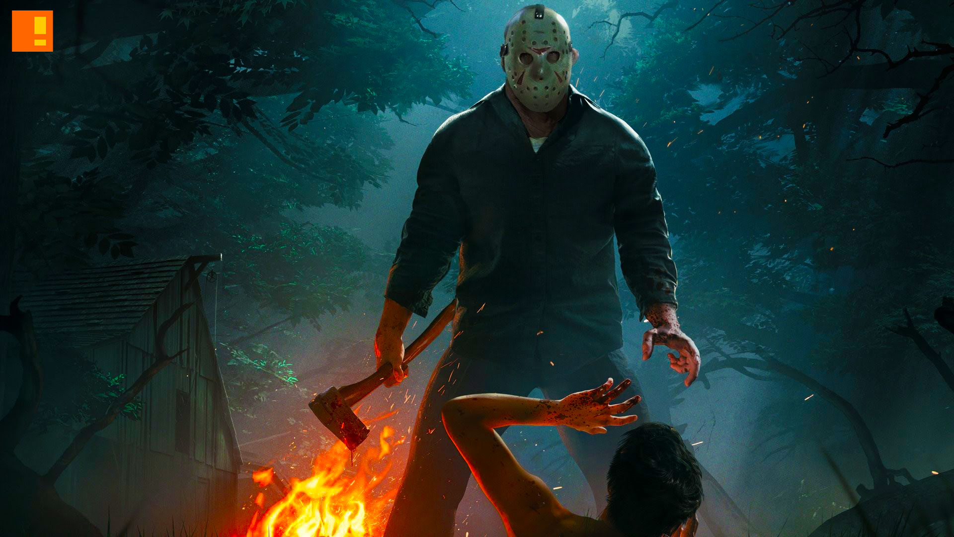 friday the 13th: the game, friday the 13th, friday 13th, jason voorhees, early alpha, serial killer, gun media, trailer , entertainment on tap, the action pixel