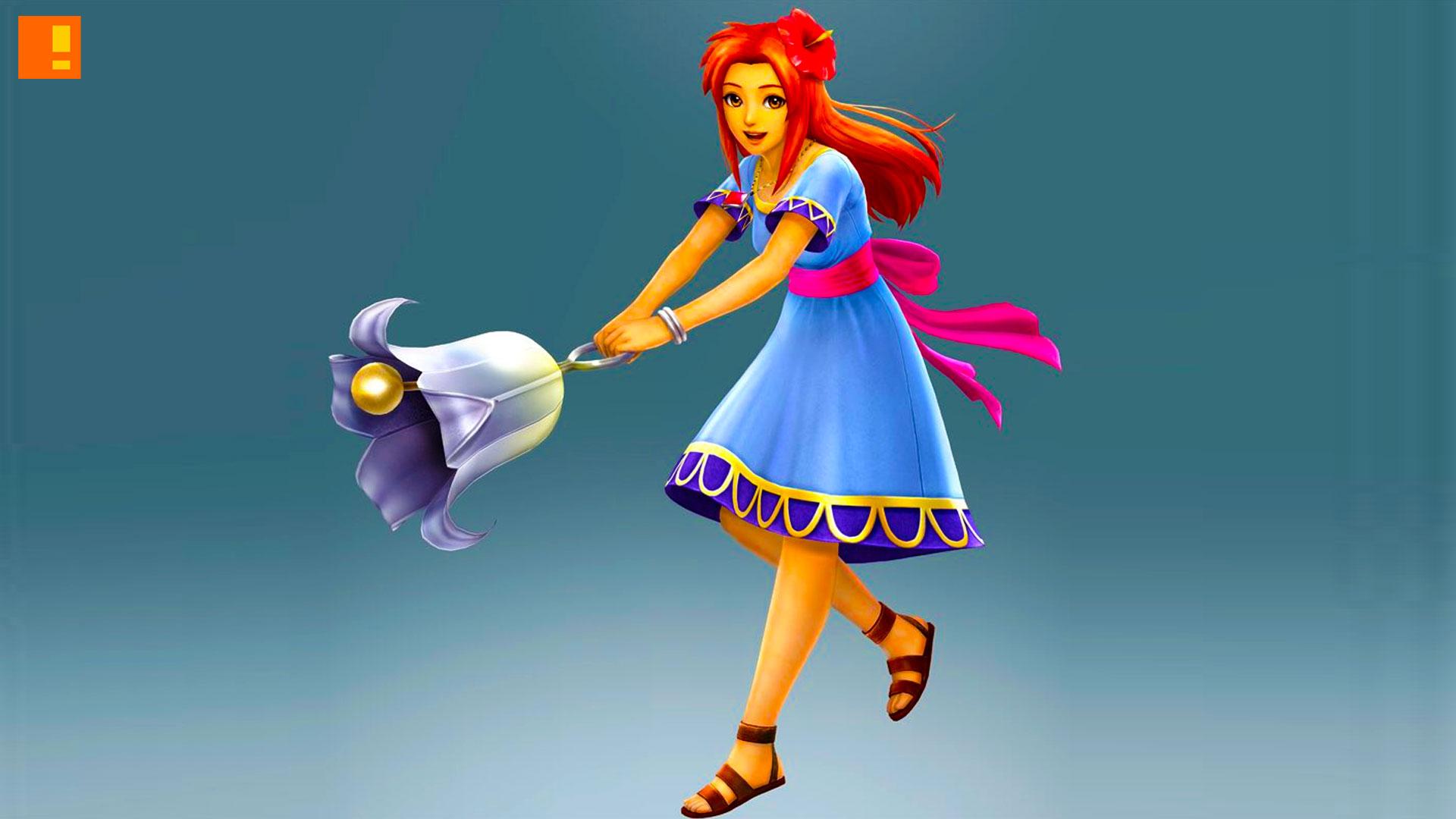 marin ,hyrule warriors: legend, nintendo, the action pixel,