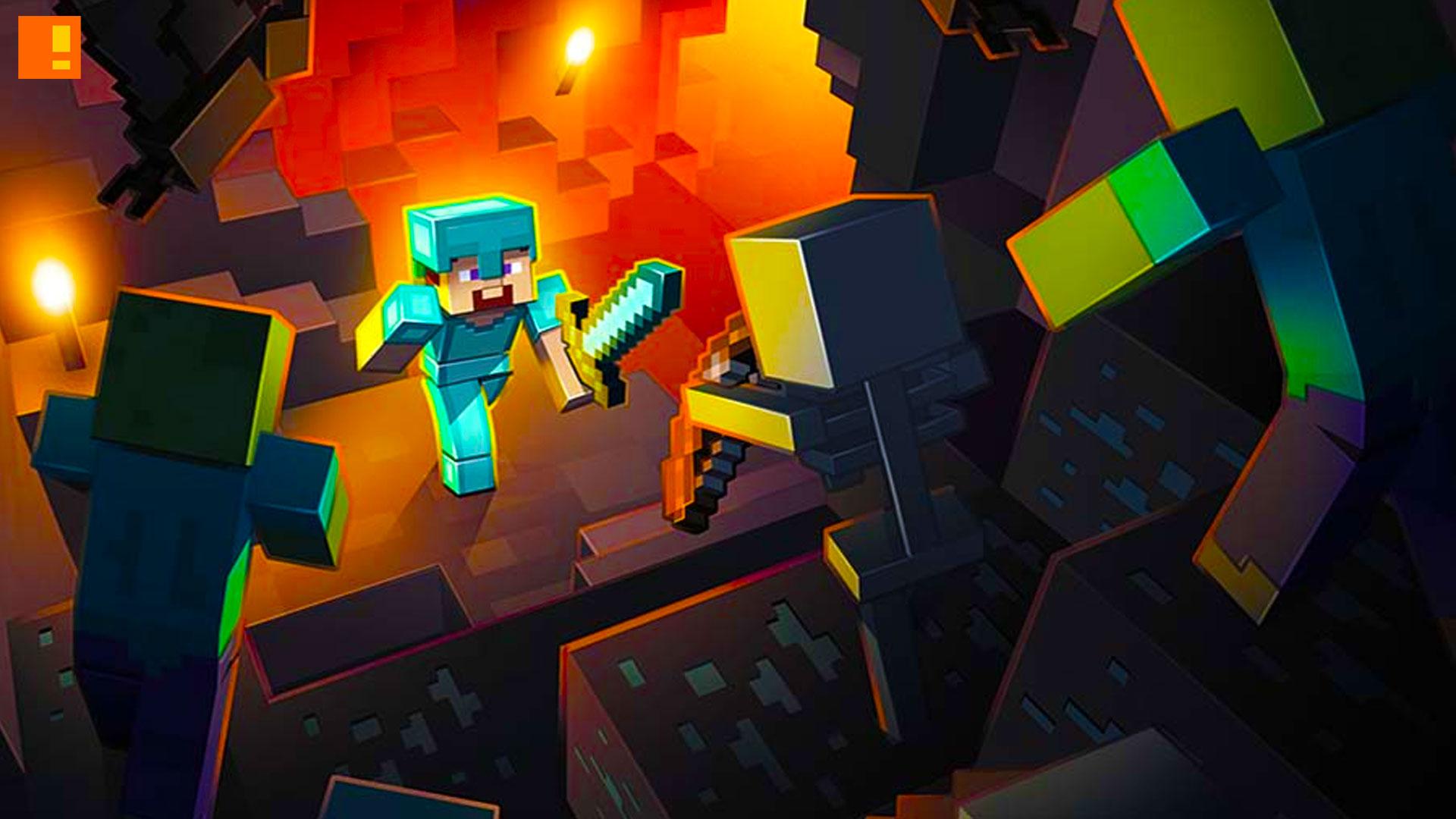 minecraft, the action pixel, entertainment on tap, warner bros. , mojang, @theactionpixel