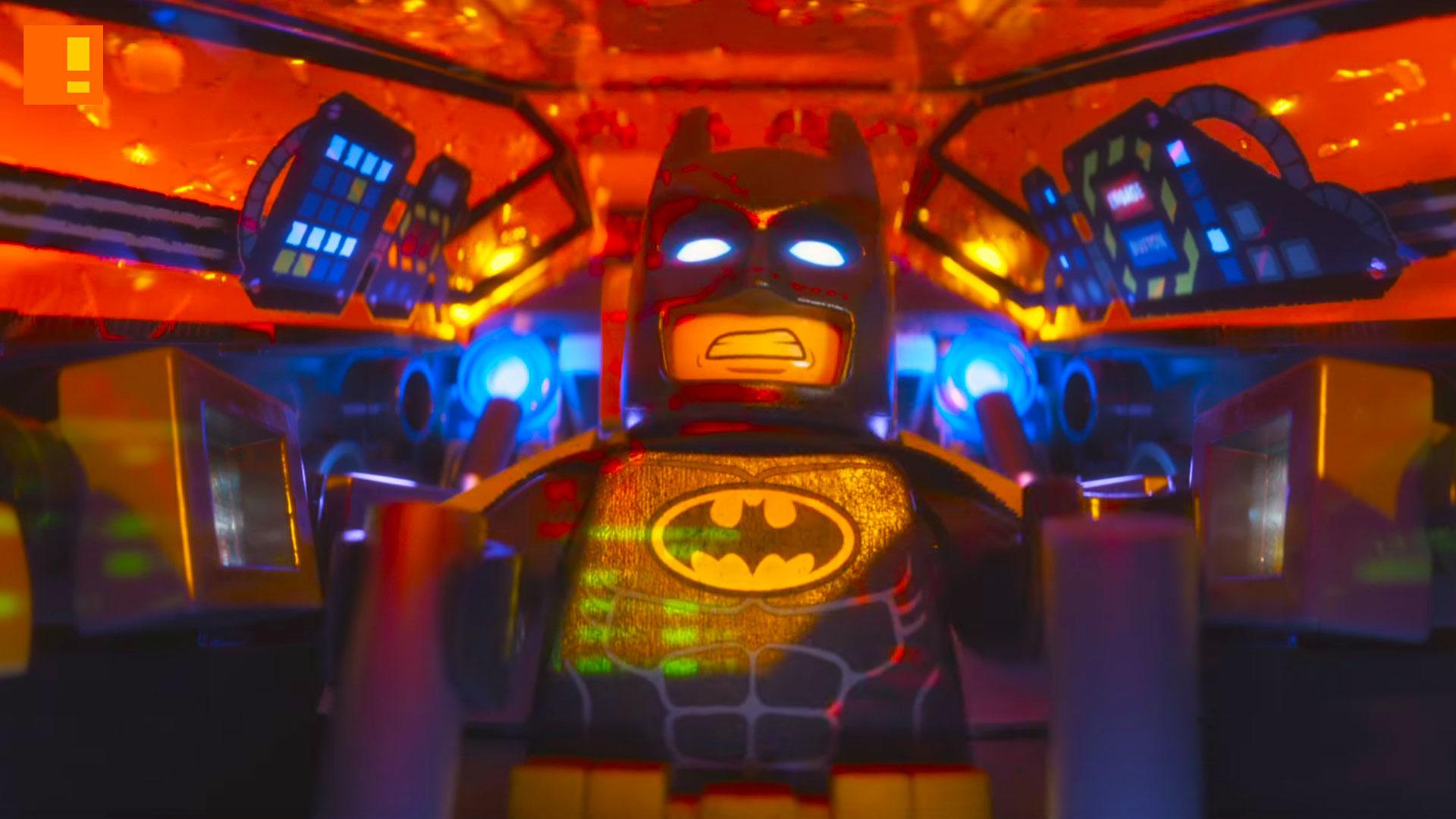 the lego batman movie, lego, batman, comic con, sdcc , trailer, the action pixel, wb, warner animation group, dc comics, warner bros. , entertainment on tap
