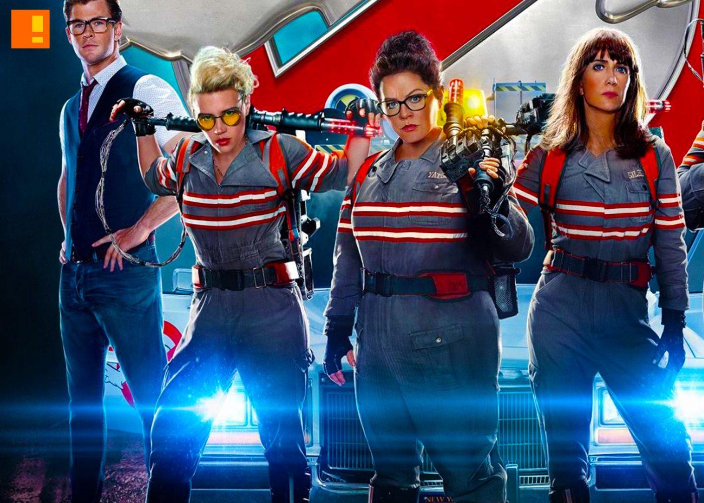 ghostbusters, sony, the action pixel,@theactionpixel, Melissa McCarthy, Kristen Wiig, Kate McKinnon, Leslie Jones, Chris Hemsworth