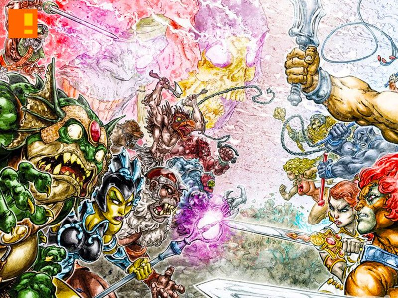 he-man, thundercats, dc comics, crossover, comic series, MATTEL, the action pixel, entertainment on tap