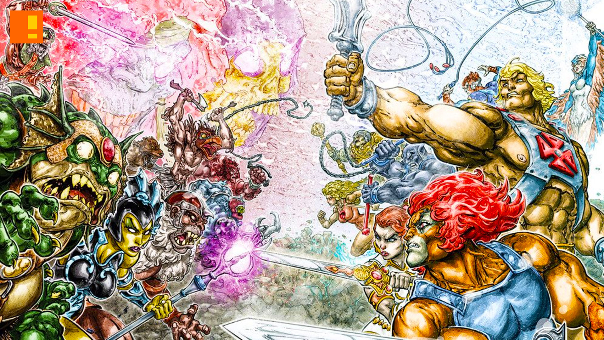 he-man, thundercats, dc comics, crossover, comic series, MATTEL, the action pixel, entertainment on tap