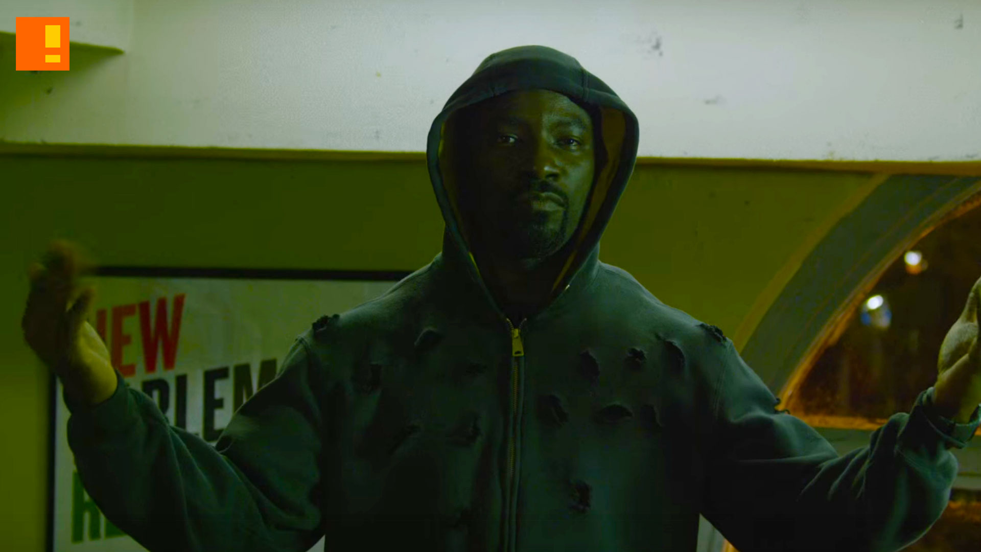 luke cage, sdcc, trailer, teaser, mike colter, marvel,netflix, the action pixel, @theactionpixel