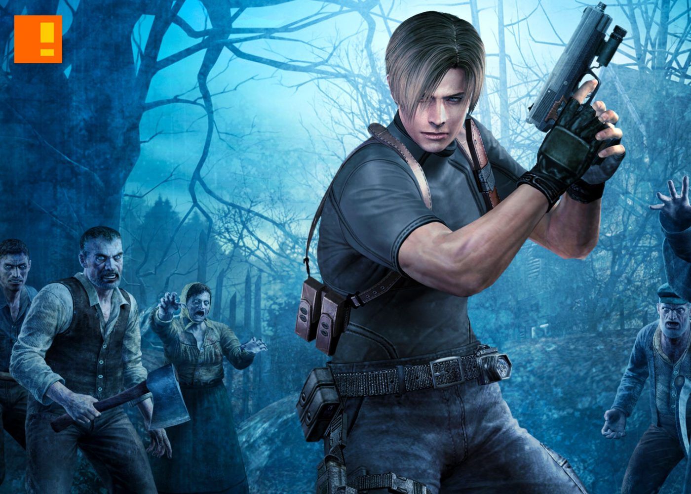 resident evil 4, capcom, the action pixel, entertainment on tap, @theactionpixel,resident evil,