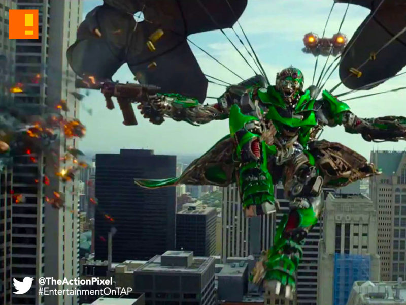 crosshairs,transformers,transformers, The last knight, entertainment on tap, the action pixel