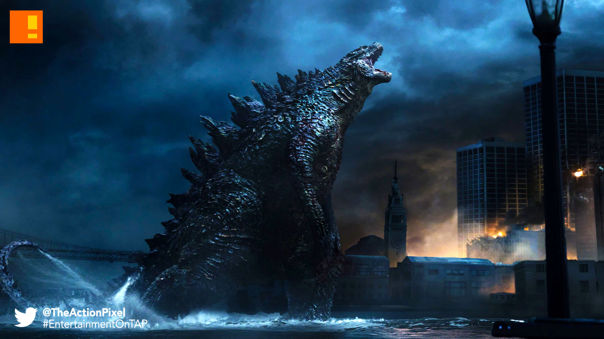 godzilla, the action pixel, entertainment on tap, @theactionpixel