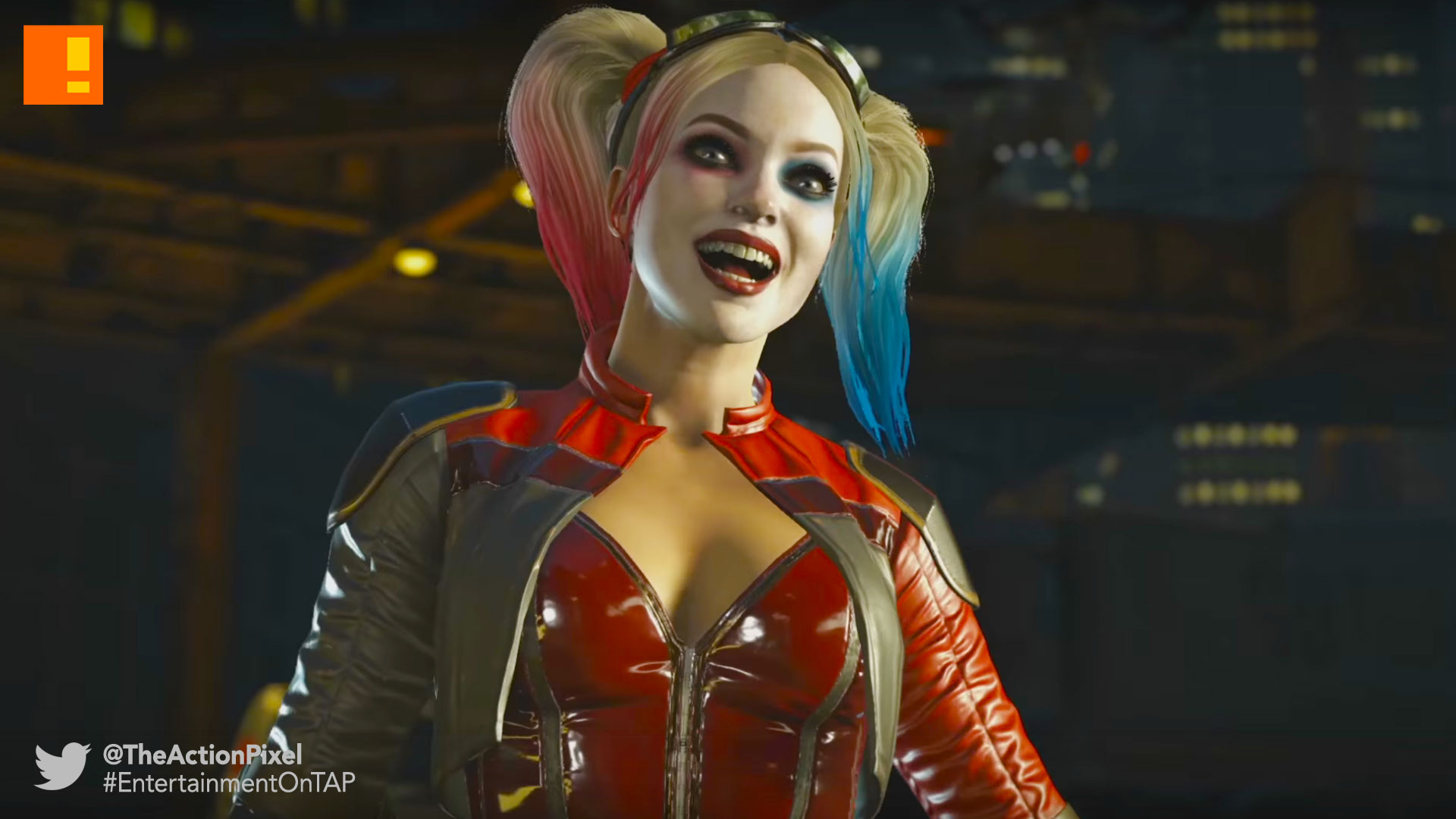 harley quinn , Injustice 2, deadshot, Injustice 2, the action pixel, entertainment on tap