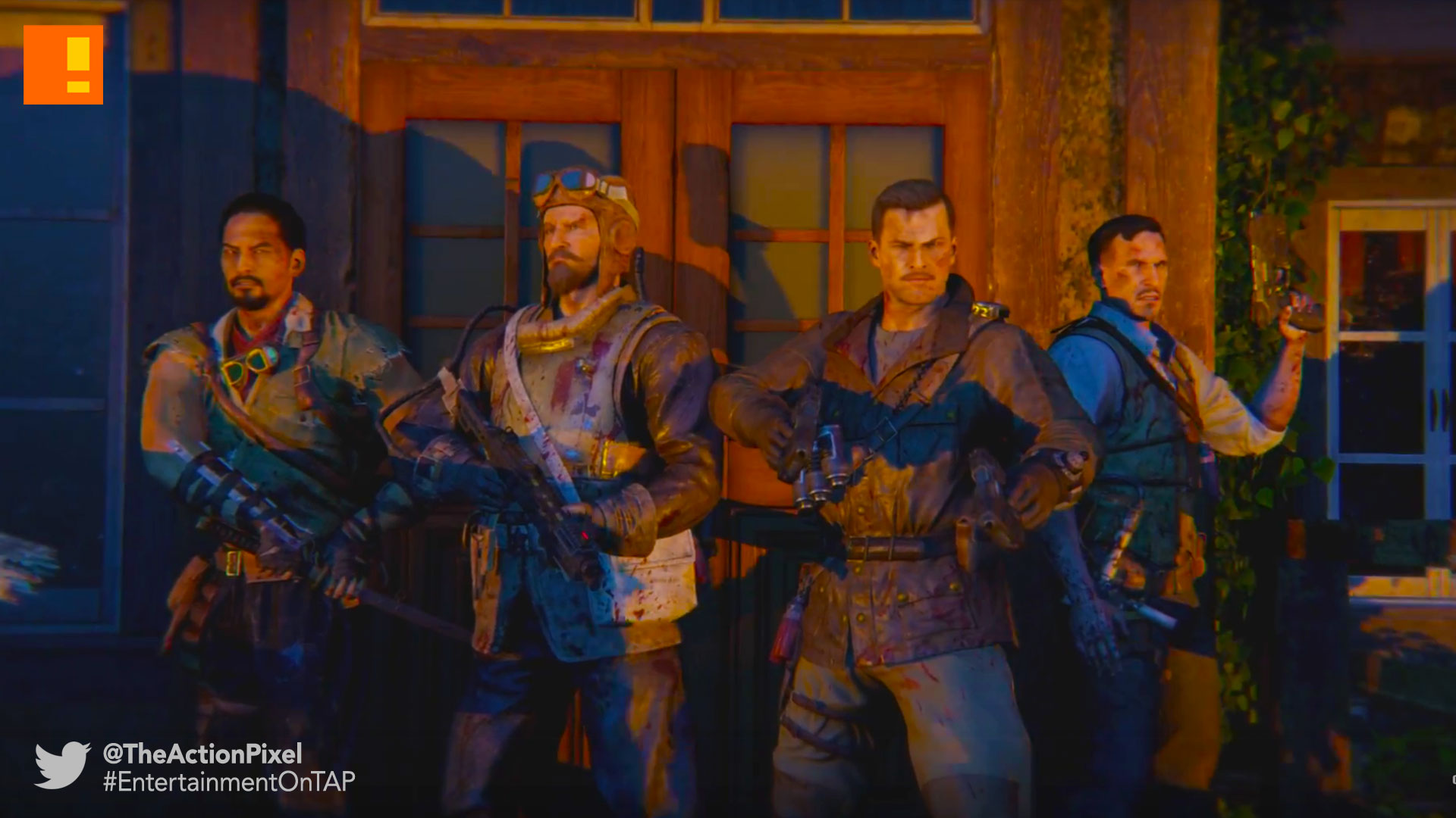 bo3,revelations, call of duty, black ops 3, entertainment on tap, treyarch, treyarch studios, the action pixel
