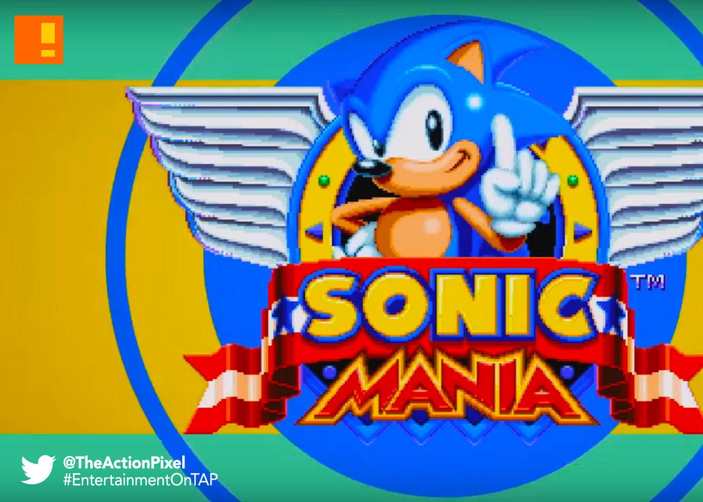 sonic mania, sonic the hedgehog, sega, 25th anniversary