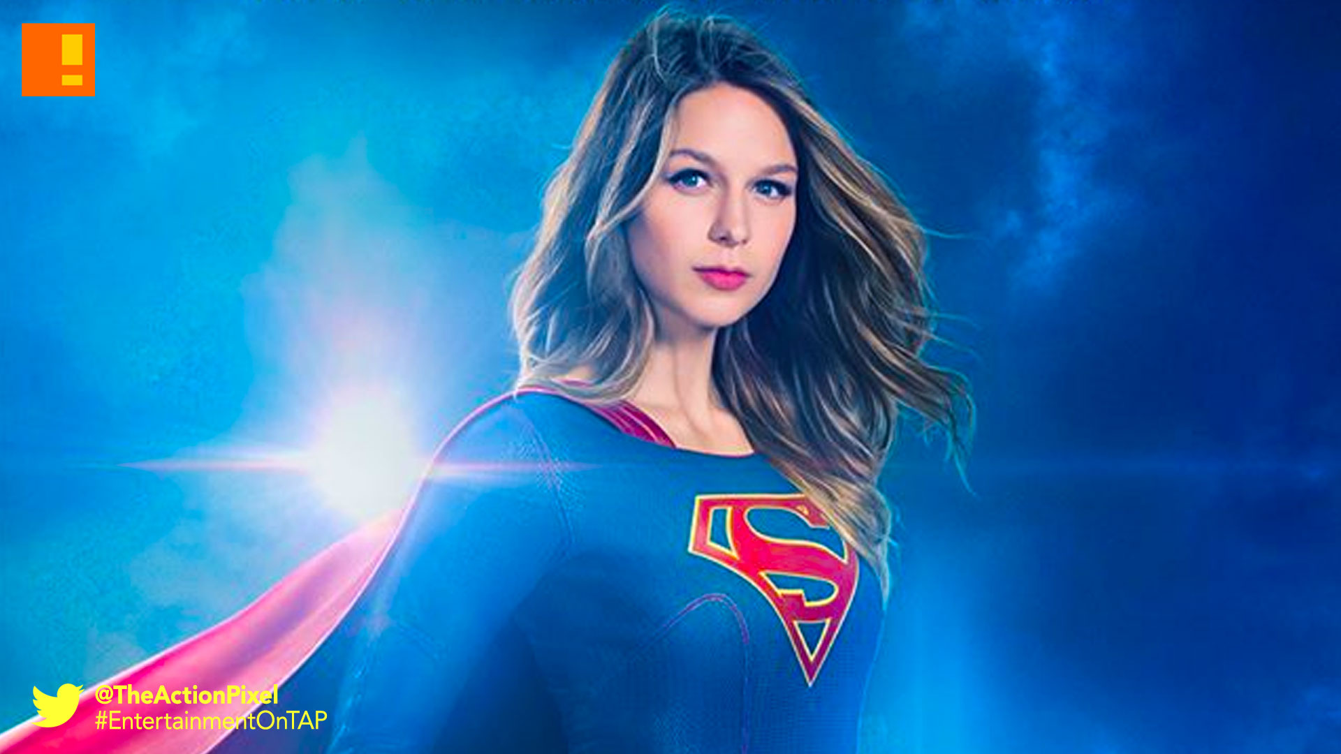 poster, supergirl, cbs,CW, melissa benoist, the action pixel, entertainment on tap,