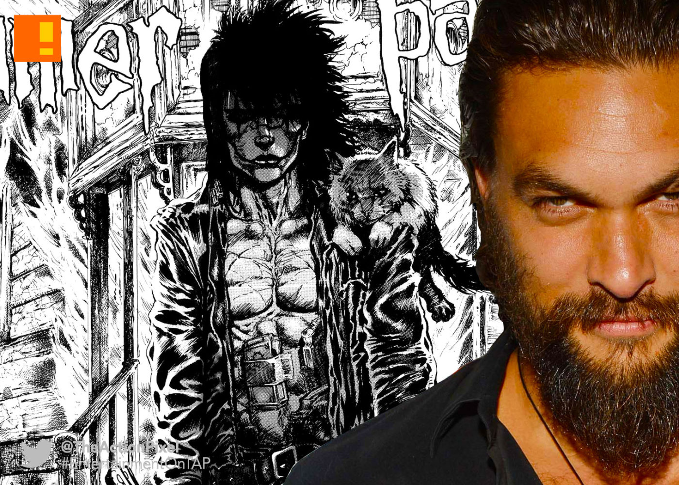 Image result for Jason Momoa as the crow