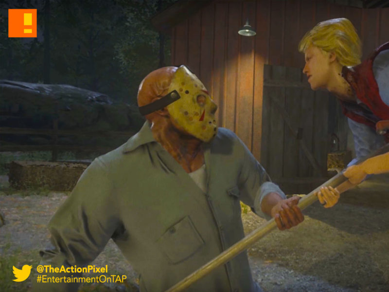 FRIDAY THE 13, JASON VOORHEES, ill fonic, friday the 13th: the game, friday the 13th, gun media, trailer, pax