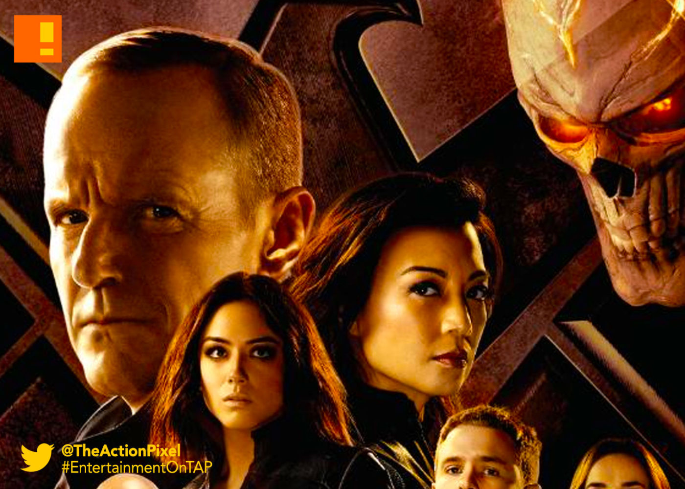 aos, agents of shield, season 4, marvel, abc, ghost rider, the action pixel, entertainment on tap,