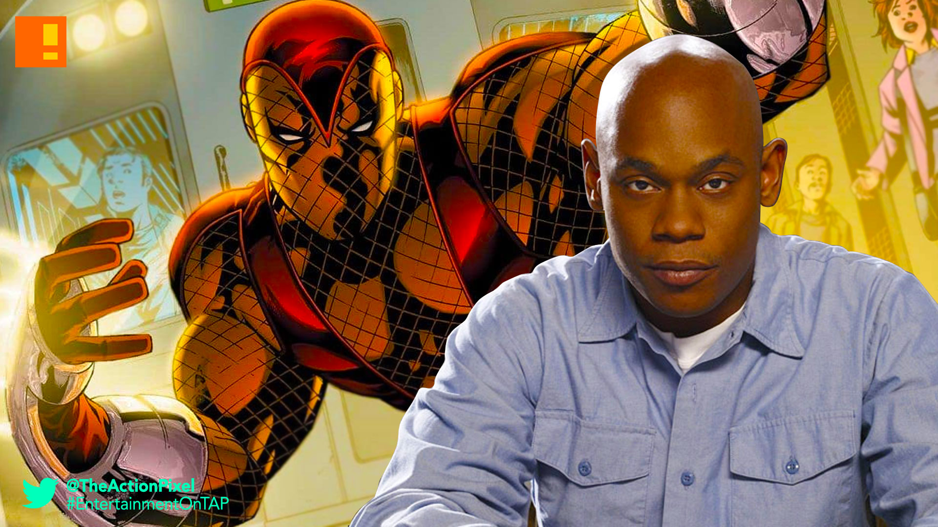 bokeem woodbine, shocker, spider-man, homecoming, spider-man: homecoming, spiderman, comics, marvel, marvel studios, sony, sony pictures,
