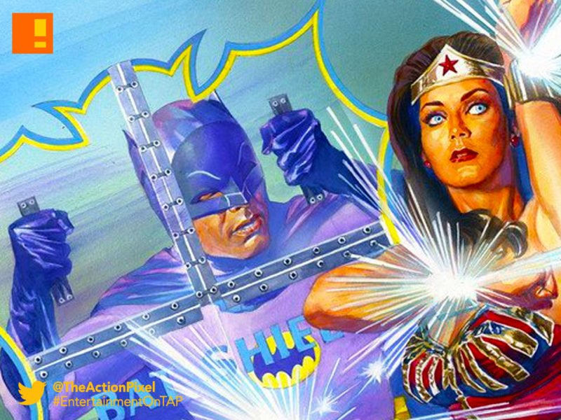 batman, wonder woman,77 batman meets wonderwoman 77, the action pixel, entertainment on tap, dc comics, diana prince, bruce wayne , alex ross