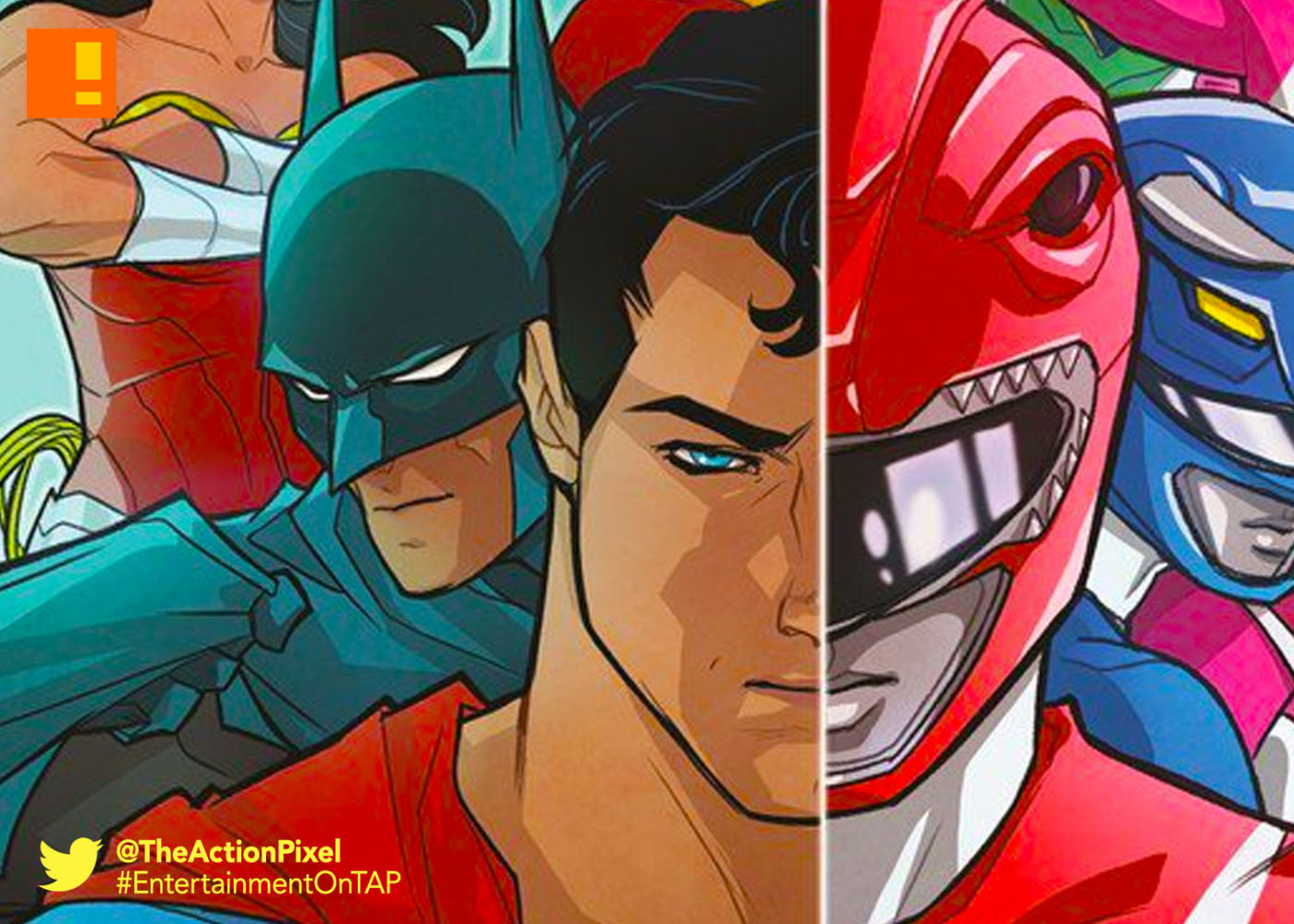 dc, dc comics, boom! studios, boom comics, boom! comics, power rangers, saban, entertainment on tap, the action pixel