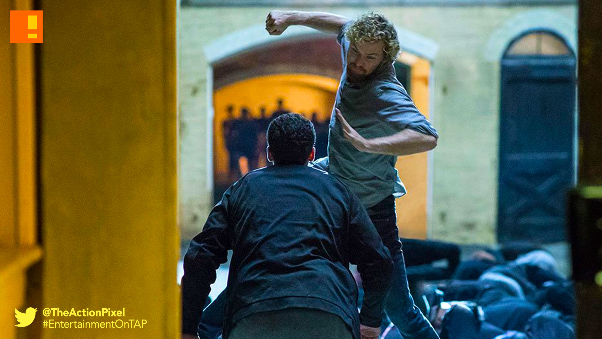 iron fist, the action pixel, netflix, marvel, entertainment on tap, announcement , release date, still, exclusive