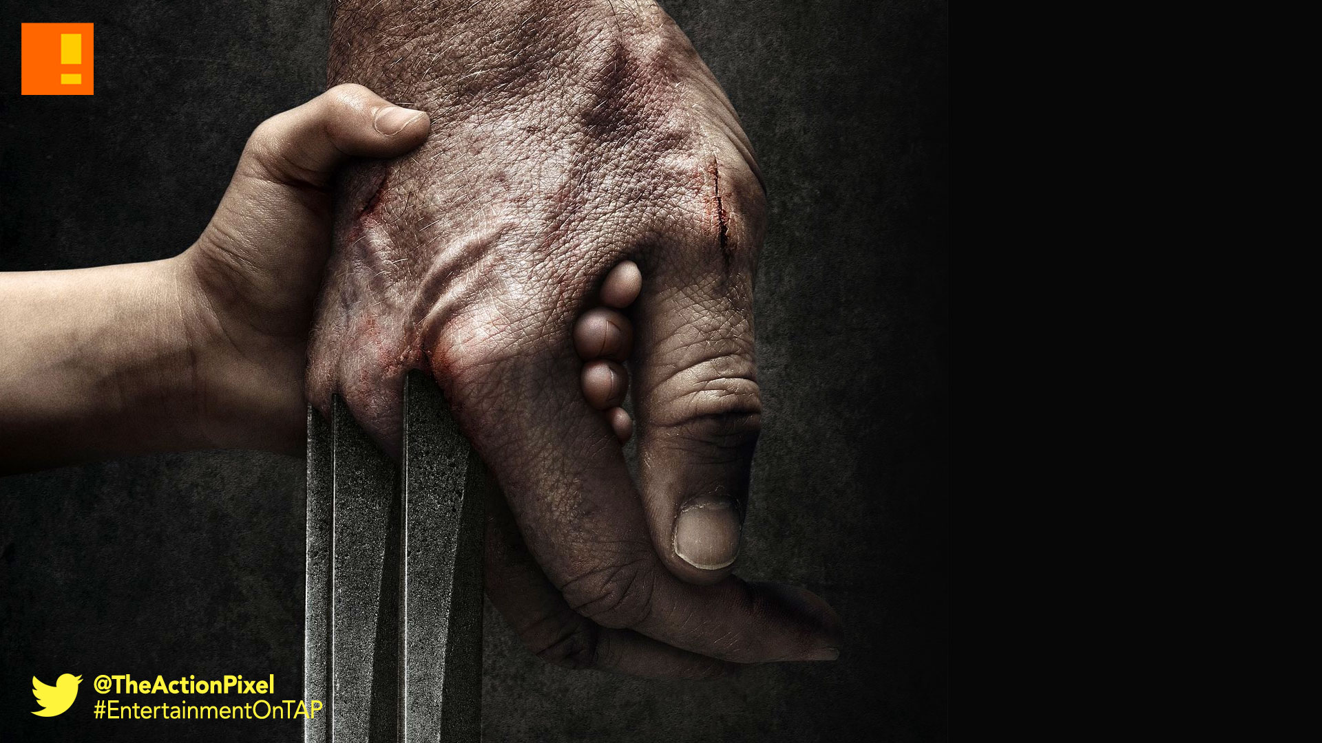 logan, poster, the action pixel, entertainment on tap, poster, wolverine, the wolverine 3, marvel, 20th century fox, hugh jackman,
